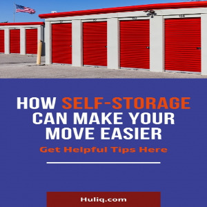 Self-storage makes your move easier