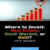 Should I invest in real estate, stock market, or gold