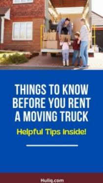Rent a Moving Truck
