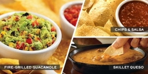 Chili's as coupons for free chips and choice of dip with purchase of an adult entree.