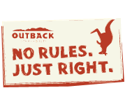 Save money on dinner or lunch for two at Outback Steakhouse