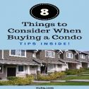 Things to Consider When Buying a Condo